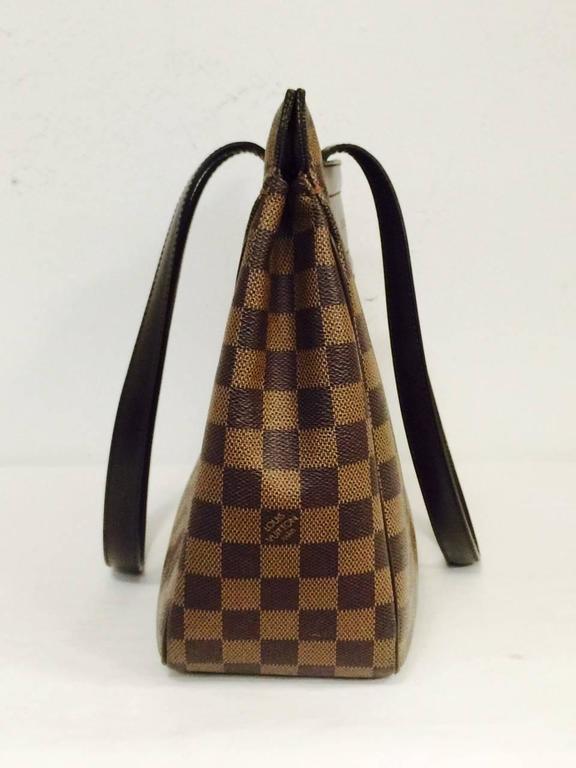 4c1f573e30ac4 Louis Vuitton Damier Ebene Canvas Parioli PM Shoulder Bag In Excellent  Condition For Sale In Palm
