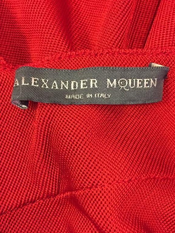 Alluring Alexander McQueen Red