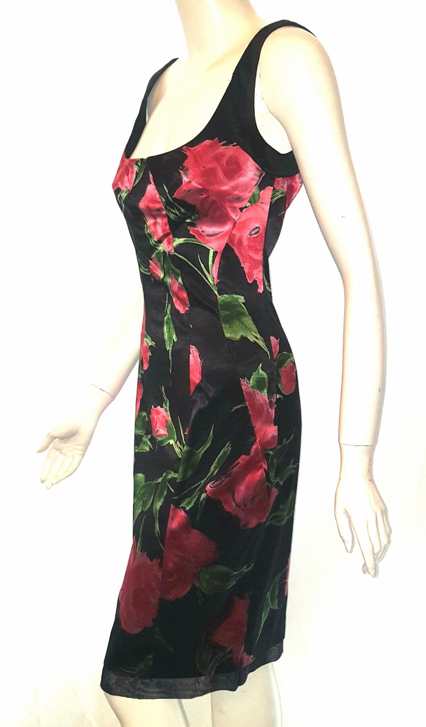 Satin Sleeveless Dress
