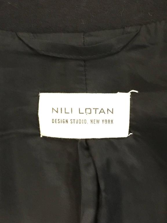 Nili Lotan Wool and Cashmere Blend Military Jacket For Sale 1