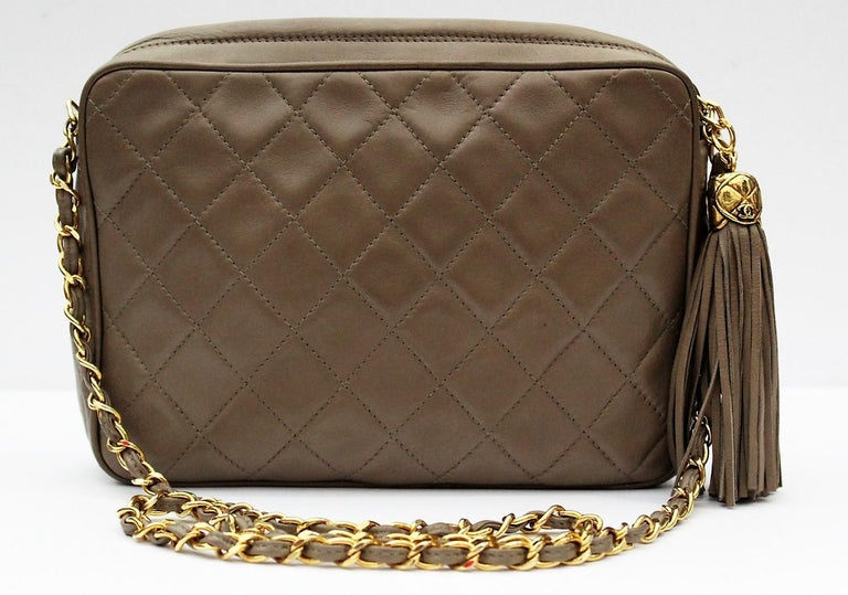 Here is a Chanel bag that gives you a good example how the brand truly stands the test of time.  Check out this Chanel Vintage Quilted Lambskin Camera Bag.  Just simply classic. It never goes out of style.