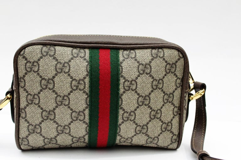 952e15a49e06 Gucci Ophidia Mini Shoulder/Crossbody Bag 2018 For Sale at 1stdibs