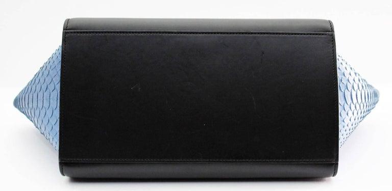 Celine Multicolor Python Leather Shoulder Bag, 2016 For Sale 2