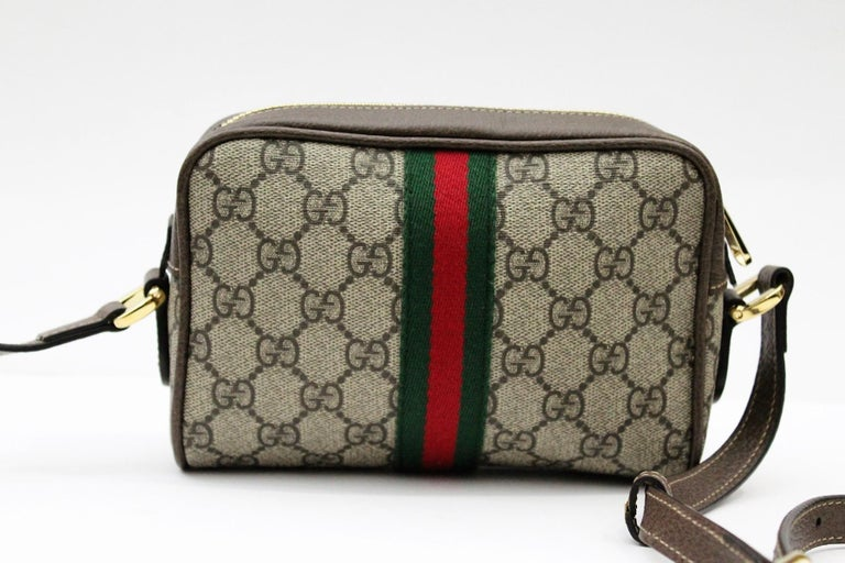 Gucci Ophidia Mini Shoulder/Crossbody Bag 2018 In Excellent Condition For Sale In Torre Del Greco, IT