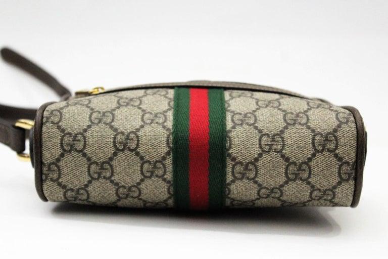 d7123edaac9c Women's or Men's Gucci Ophidia Mini Shoulder/Crossbody Bag 2018 For Sale