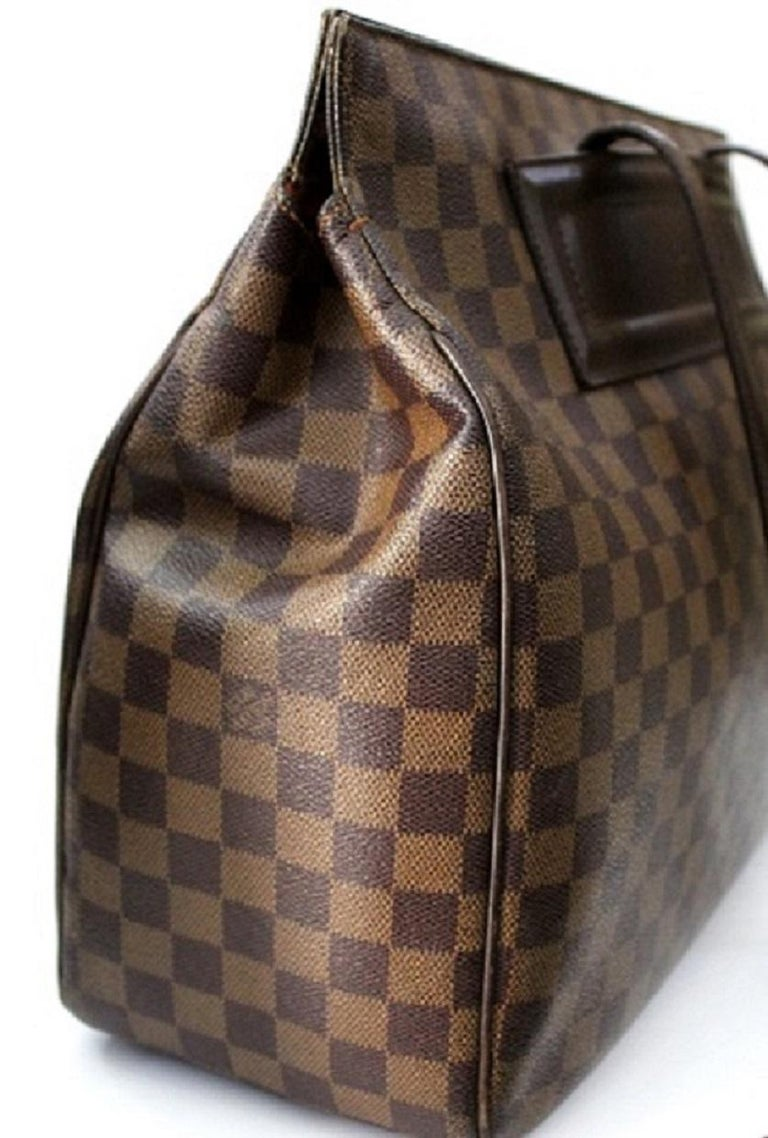 Black LOUIS VUITTON Damier Canvas Parioli Tote Bag For Sale a38bec2c80ae7