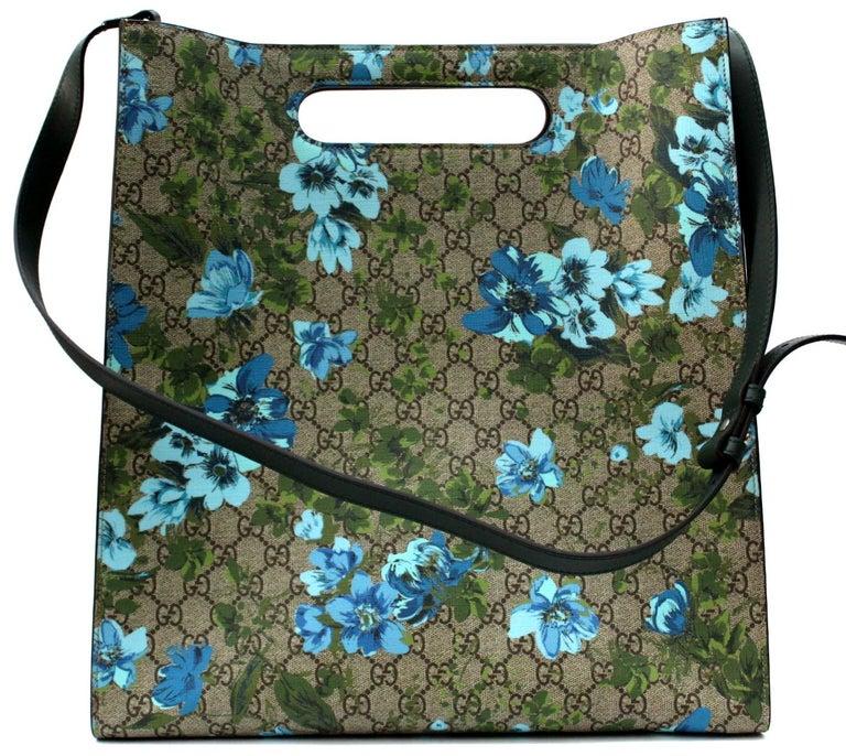 Gucci Linea C Blooms Print XL Tote For Sale 1