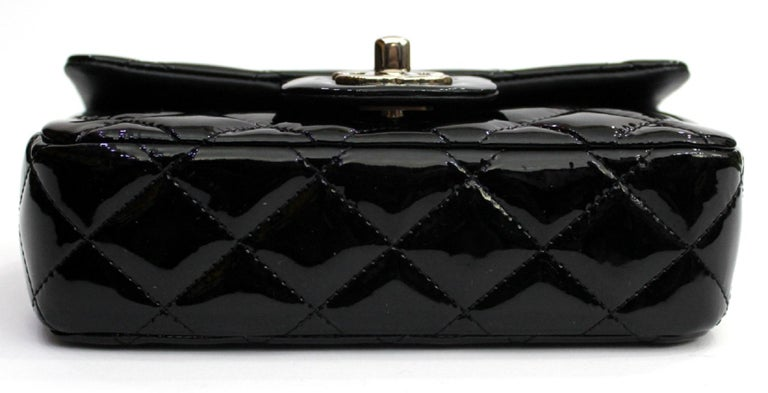 2013/2014 Chanel Black Patent Leather Bag For Sale 3