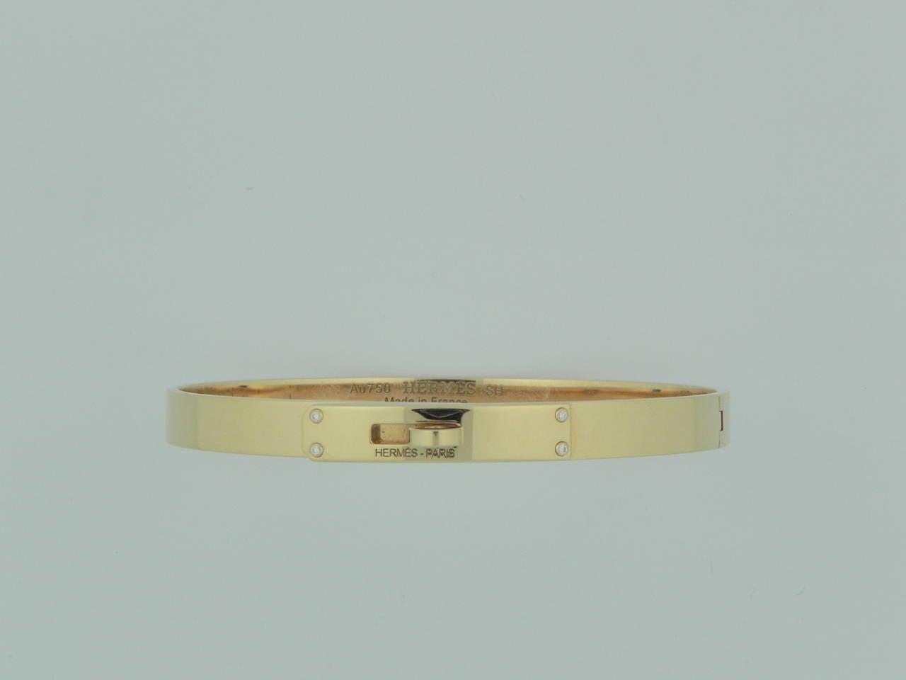 Kelly Bracelet Diamond Gold Kelly Bracelet With