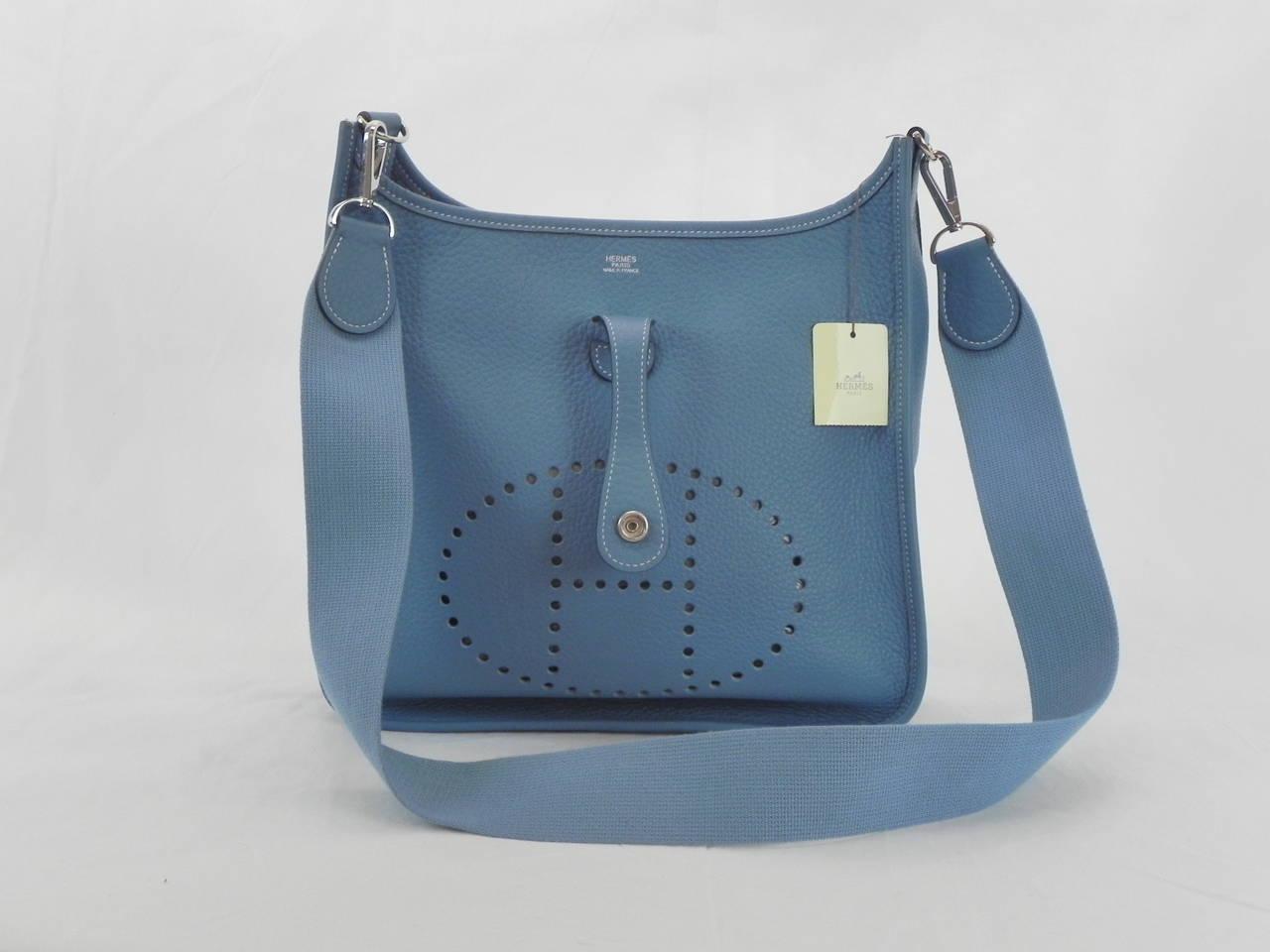 birkin bag knockoffs - hermes evelyne iii pm blue jean clemence, hermes lindy bag price