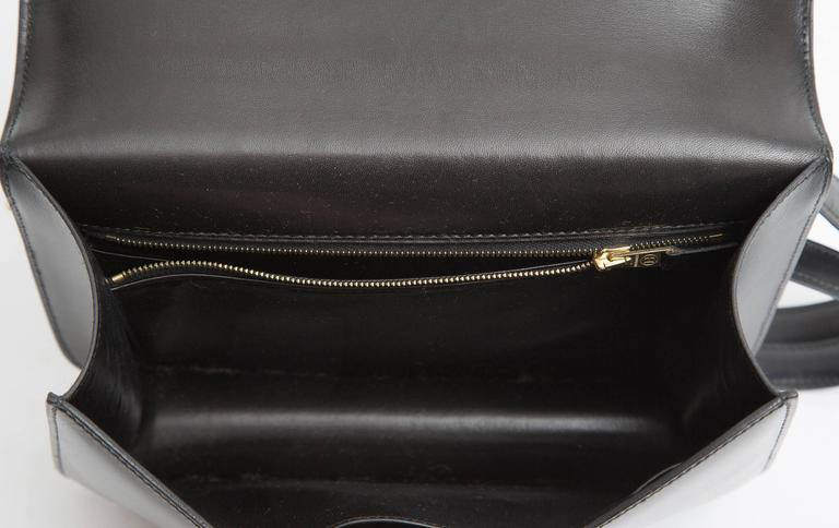 "Hermes Constance 23cm Black Box Calf ""Constance""Bag  9"
