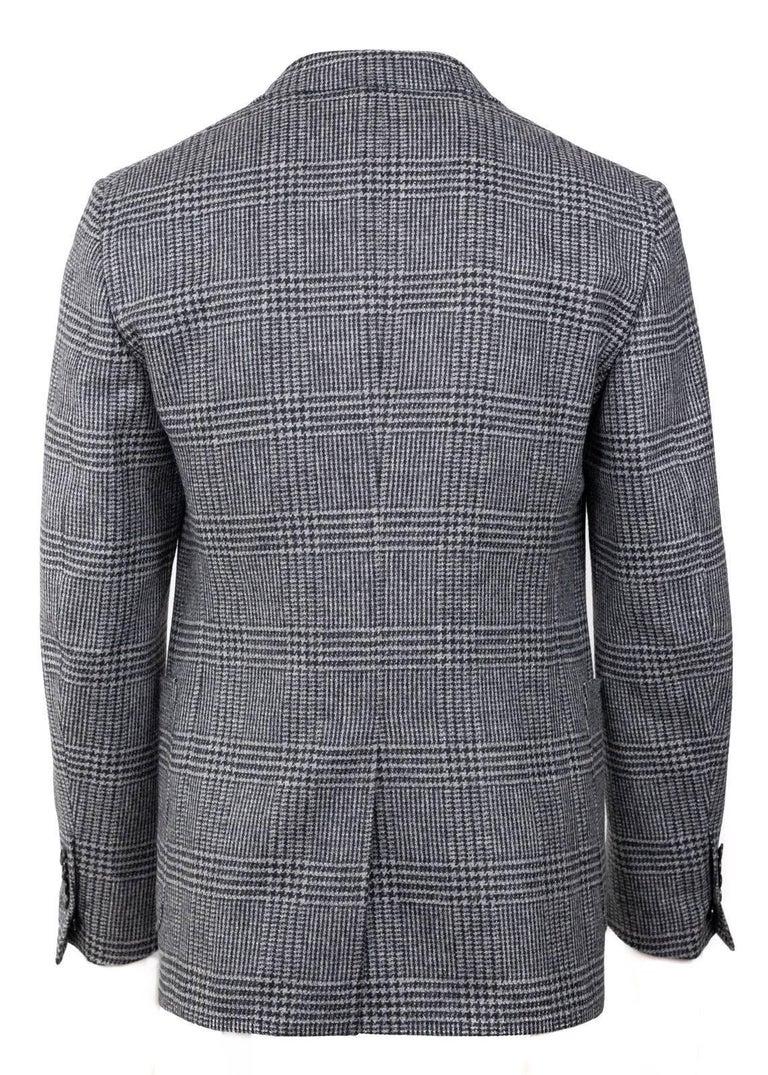 Tom Ford Prince Wales Houndstooth Shelton Sports Coat Jacket 48R 38R ret $3890 In Excellent Condition For Sale In Brooklyn, NY