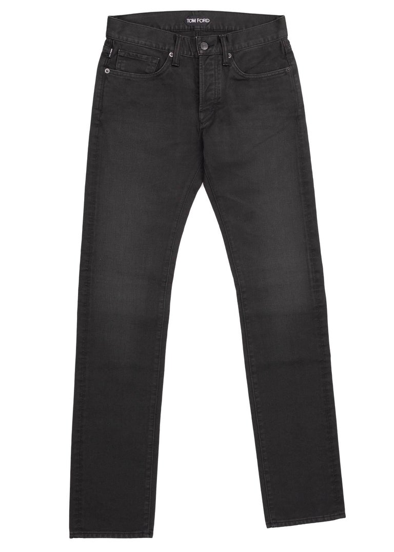You can always rely on your Tom Ford Straight Leg Jeans for the occasion. This timeless pair was designed using durable cotton, a straight fit, and a four button front fly design. Pair these jeans with a slouchy white top for the perfect all purpose