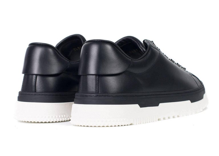 3240c2e743 Valentino Mens Black Leather Low Top La Platform Sneakers In New Condition  For Sale In Brooklyn