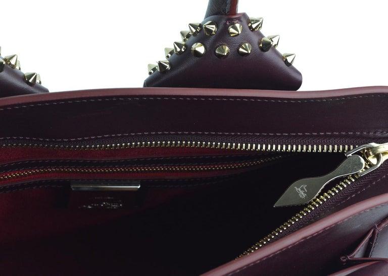 Black Christian Louboutin Women's Eloise Small Crossbody Bag For Sale