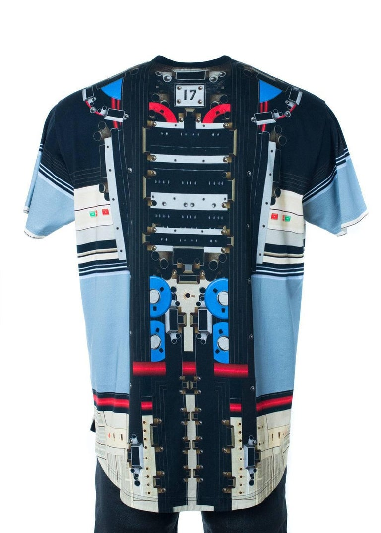 Givenchy men 39 s multi color transformer graphic t shirt for for T shirt graphics for sale
