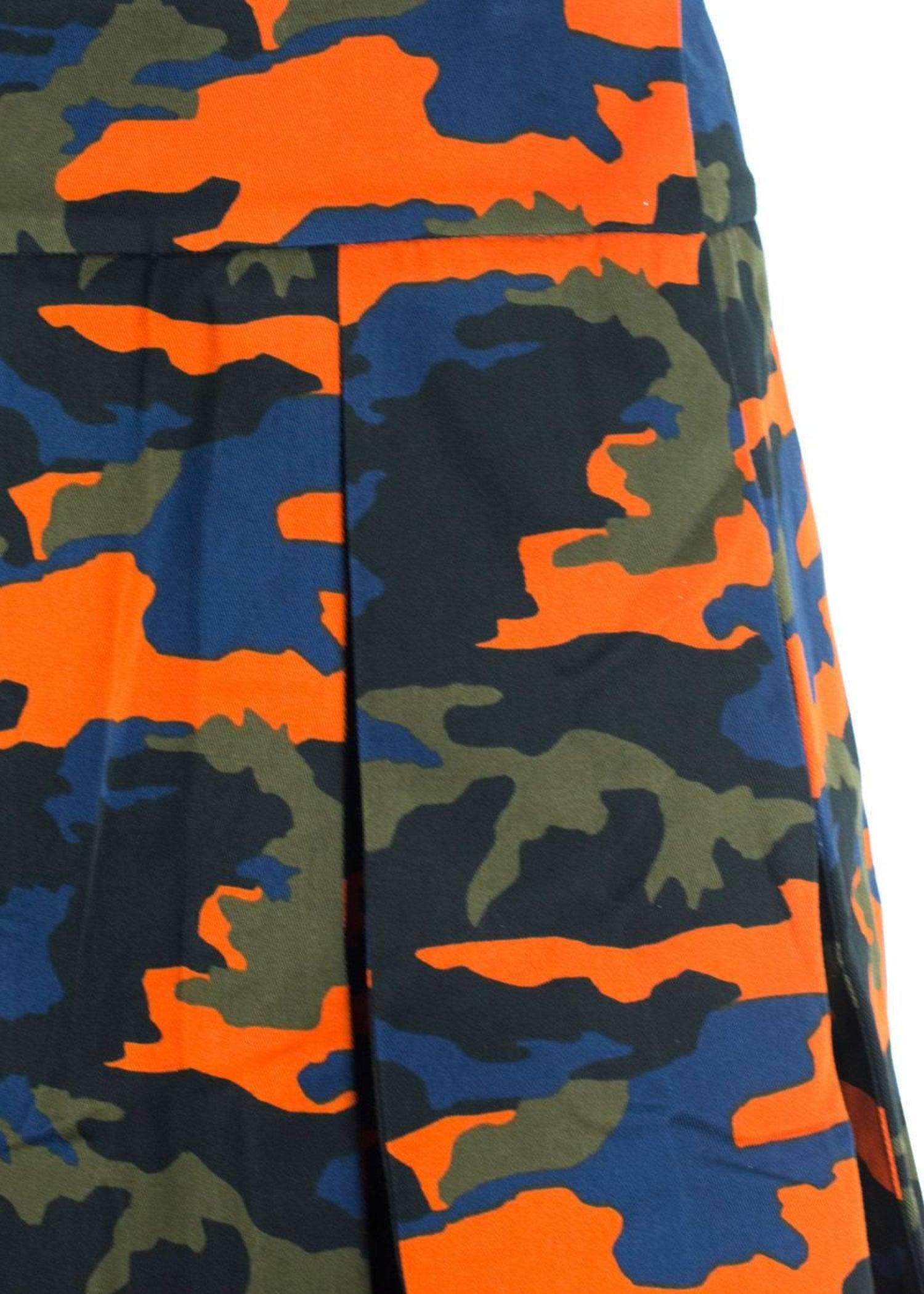 Givenchy Men s Green Orange Camouflage Kilt For Sale at 1stdibs 6504019d9f5f