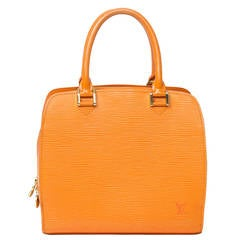 Louis Vuitton Pont-Neuf Mandarine Epi Leather