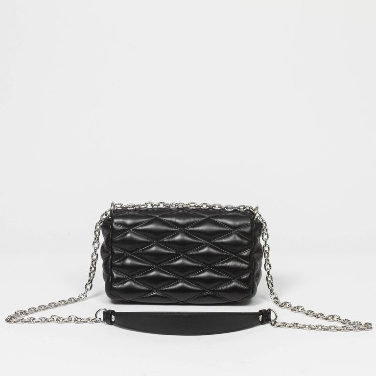 Louis Vuitton Go 14 Mini Black Malletage Leather At 1stdibs