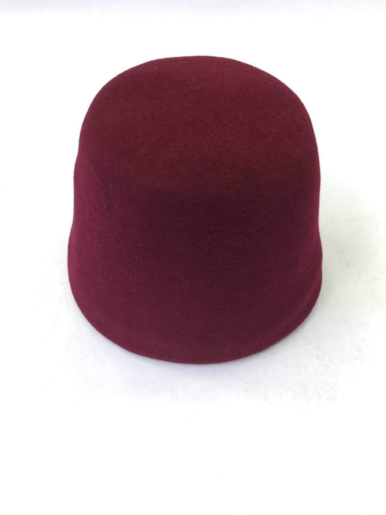 Yves Saint Laurent 70s fez hat. 2