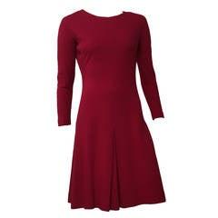Anne Fogarty 60s Wool Dress Size 6.