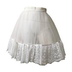 Emanuel Ungaro Parallele Paris Petticoat Size 4.
