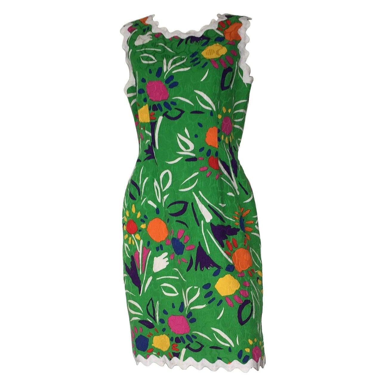 Bill Blass 70s Dress Size 10. 1