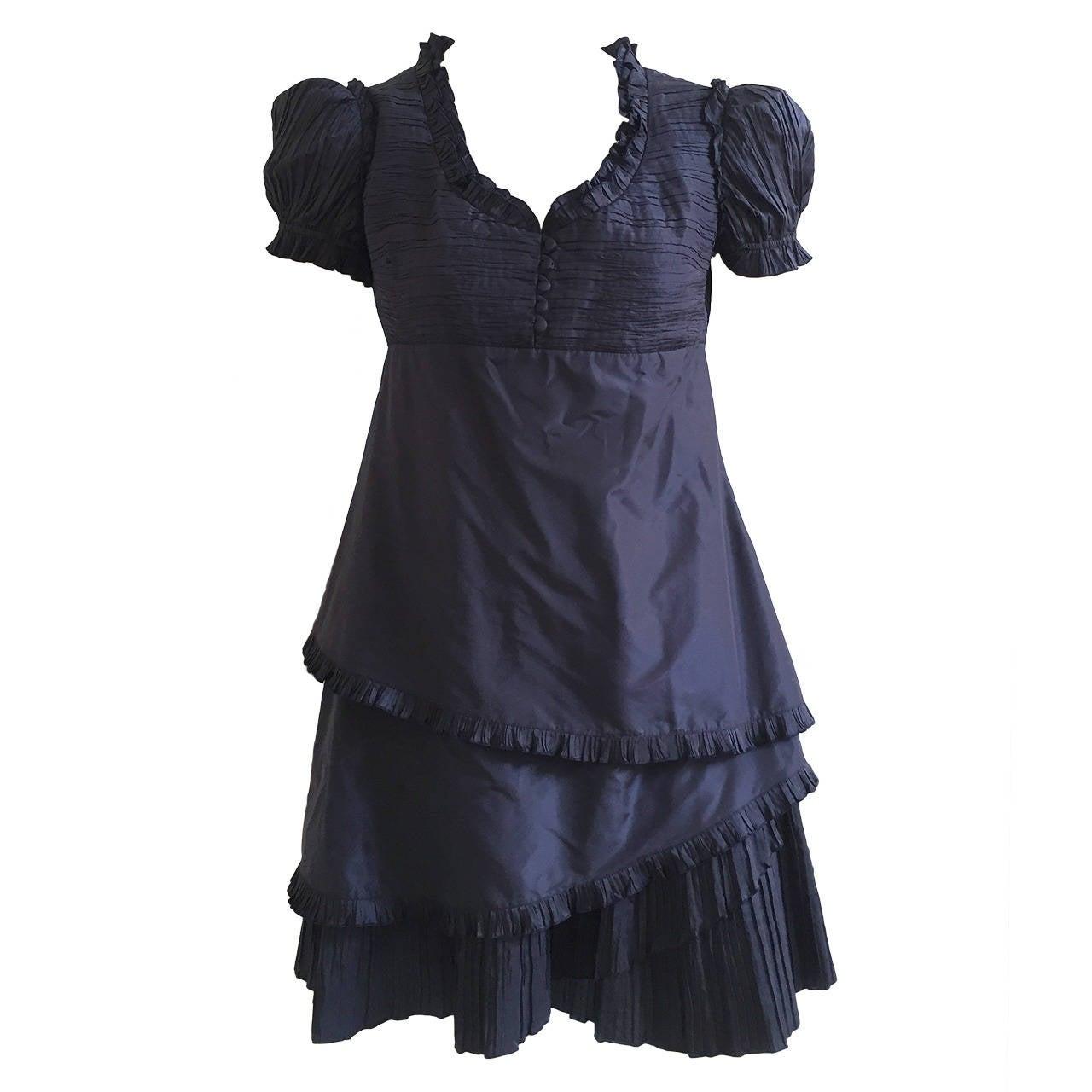 Blumarine Silk Dress Size 8.