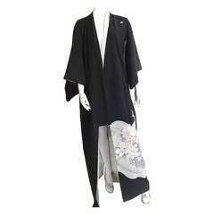 Silk Japanese kimono.