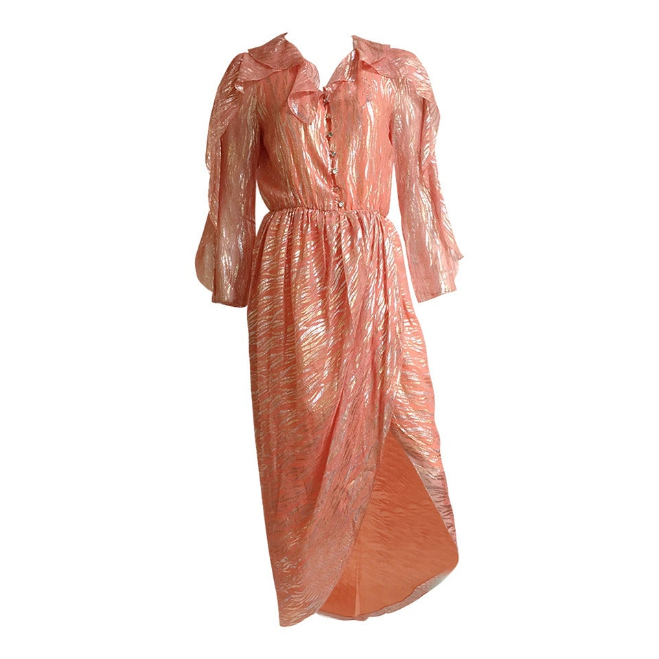 Stephen Burrows wrap dress size 4, 1980s  For Sale