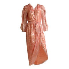 Stephen Burrows 80s wrap dress size 4.