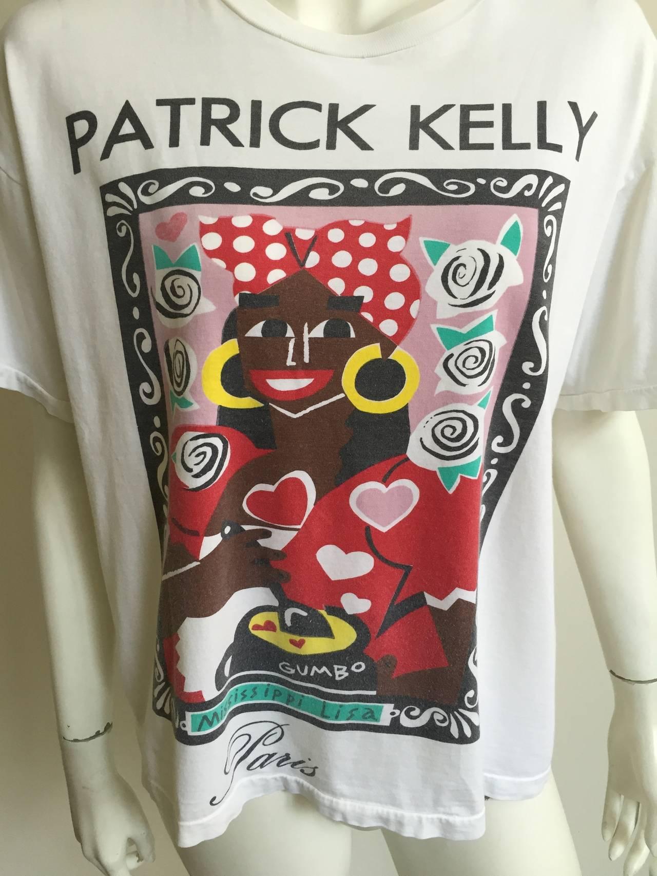 Patrick Kelly 1988 'Mississippi Lisa' t-shirt . 2