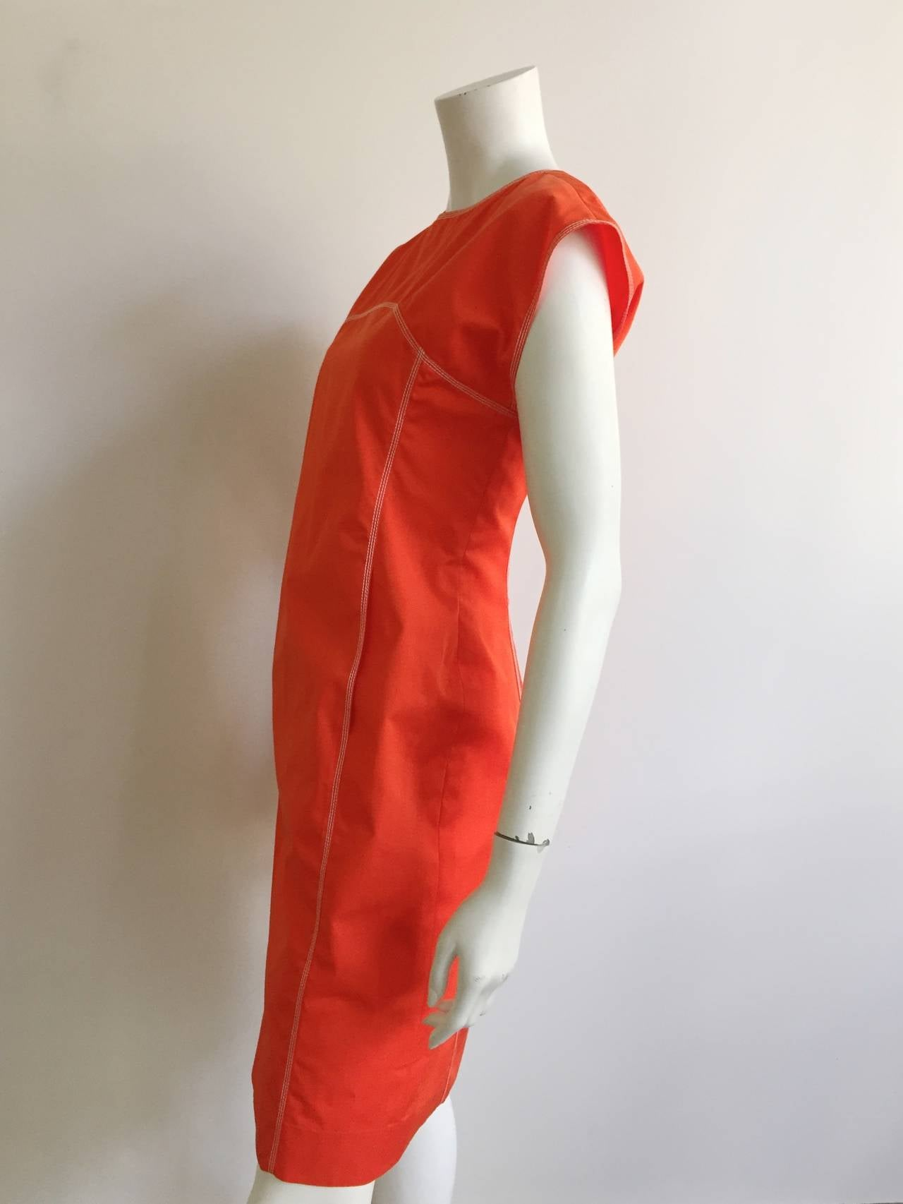 Courreges Paris Dress With Pockets Size 8, 1980s For Sale 1