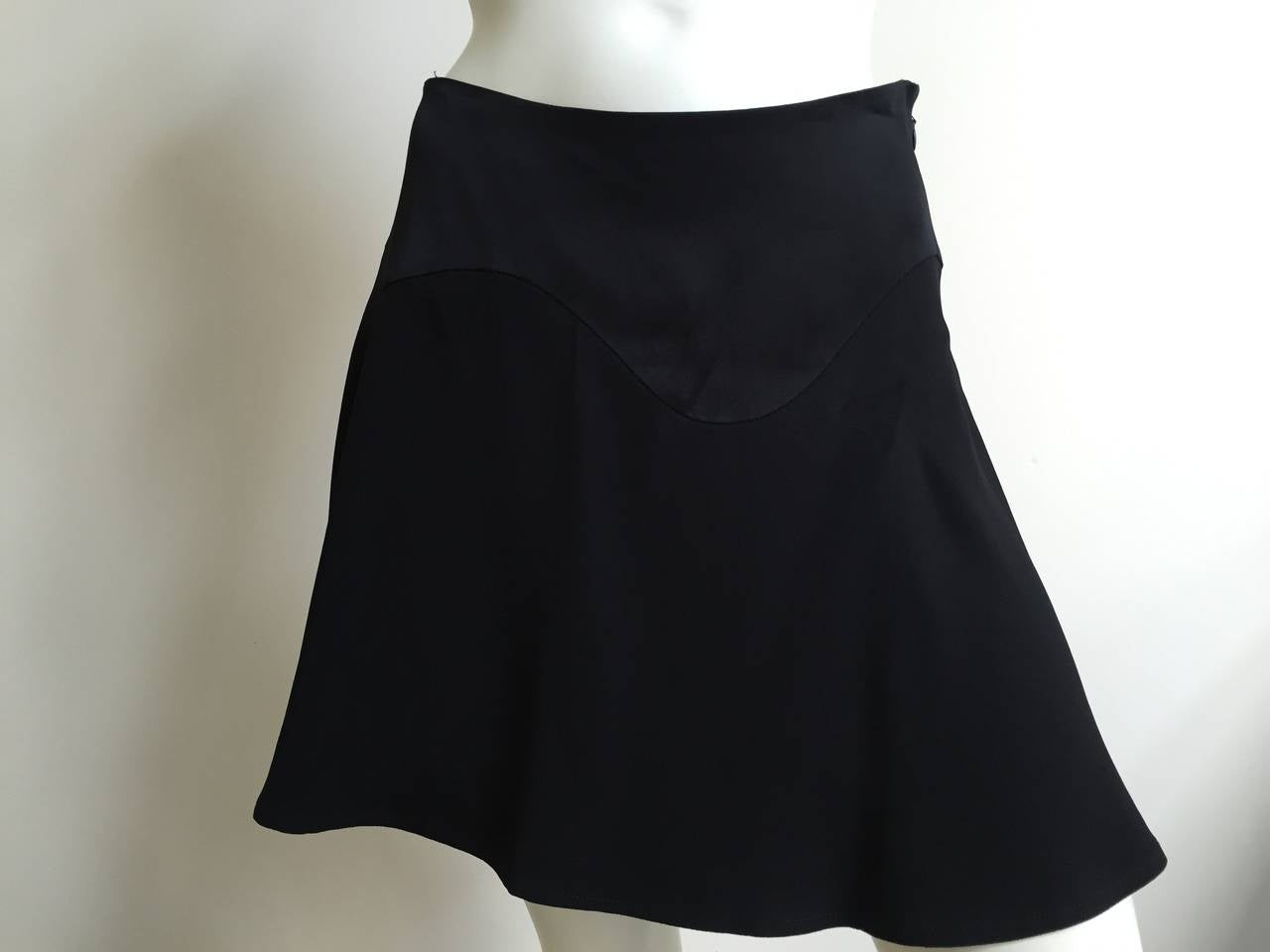 Moschino Cheap and Chic black short sexy skirt size 6. 3