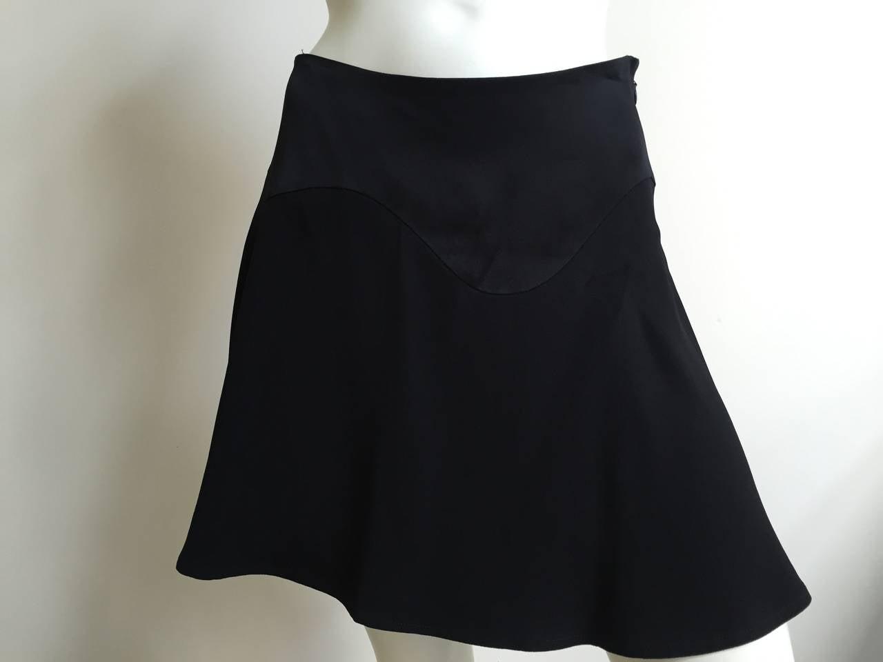 Moschino Black Short Skirt Size 6. 3