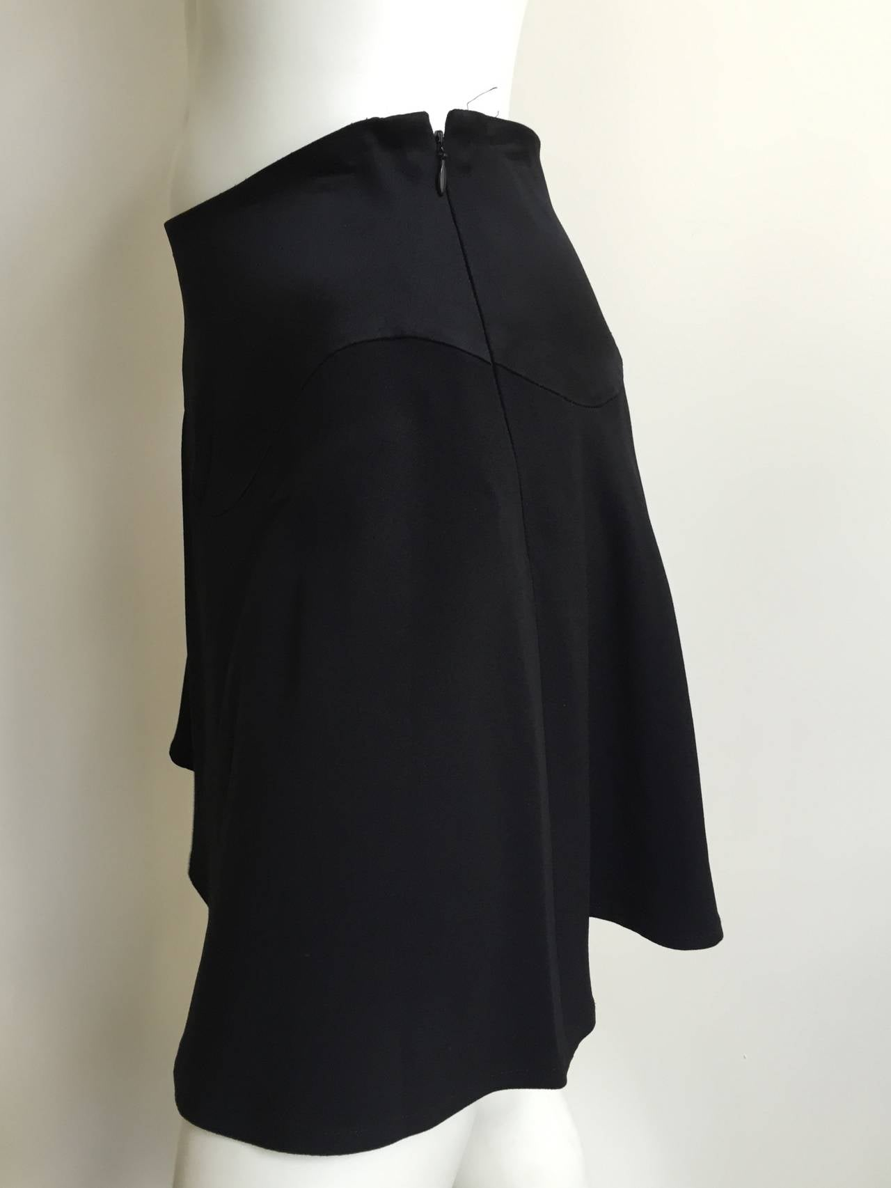 Moschino Cheap and Chic black short sexy skirt size 6. 4