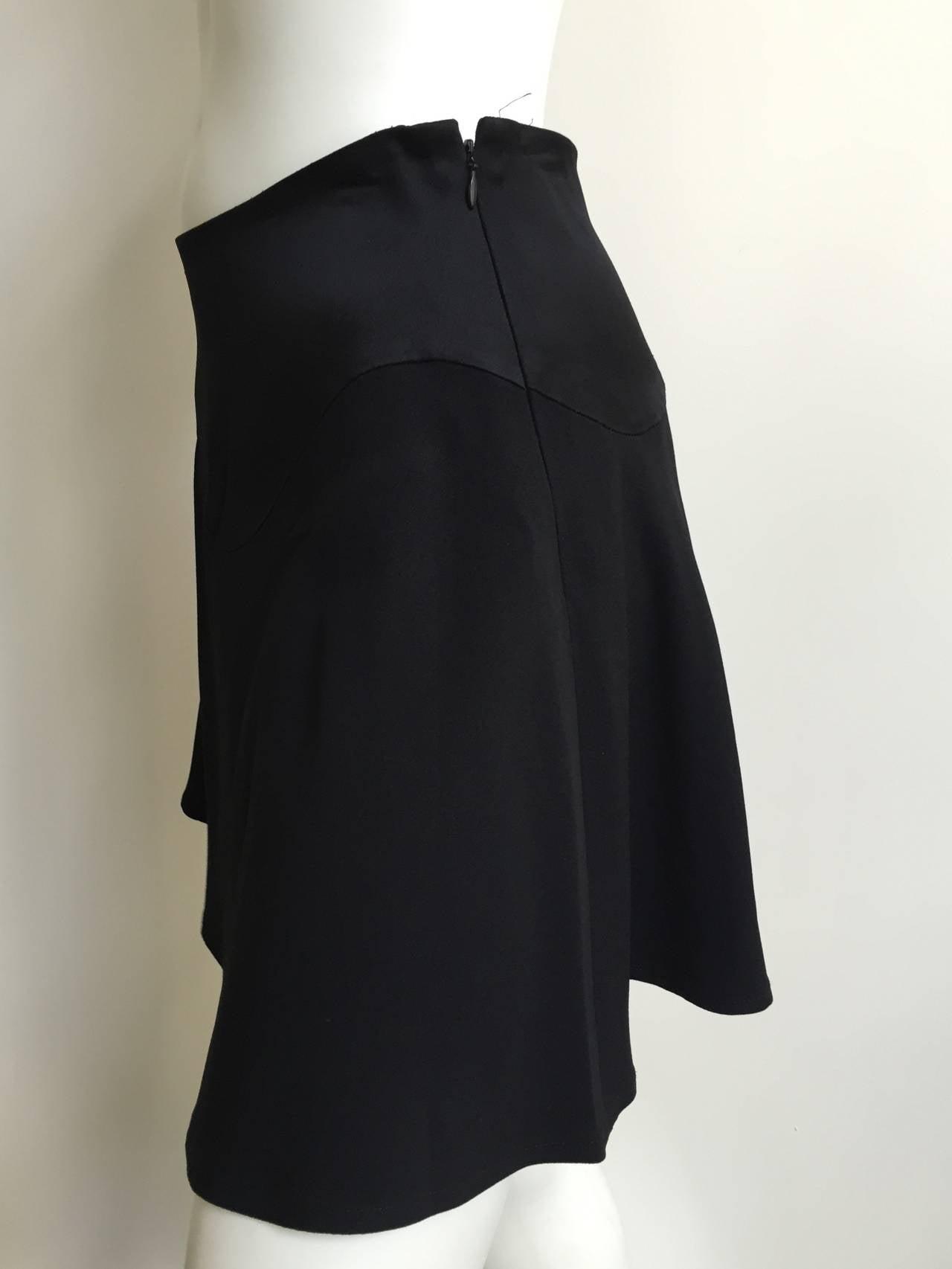 Moschino Black Short Skirt Size 6. 4