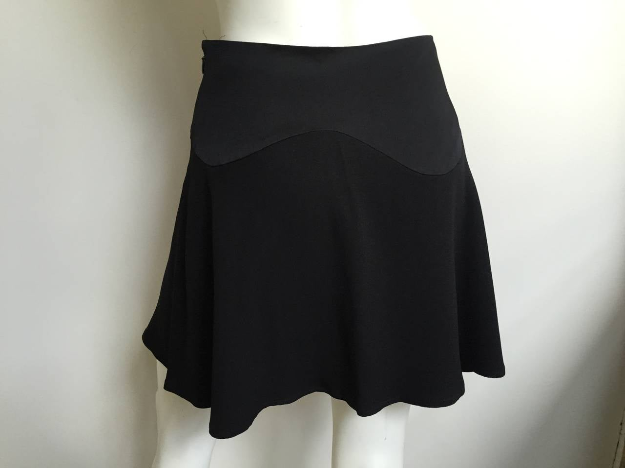 Moschino Cheap and Chic black short sexy skirt size 6. 5