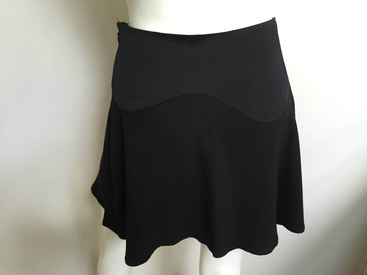 Moschino Black Short Skirt Size 6. 6