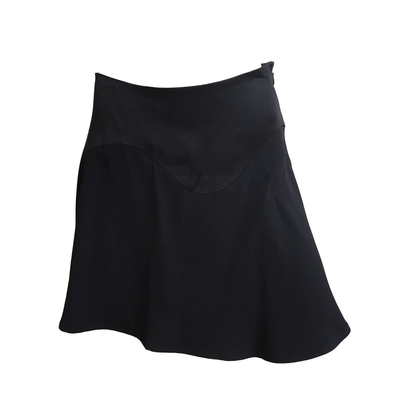 Moschino Cheap and Chic black short sexy skirt size 6. 1