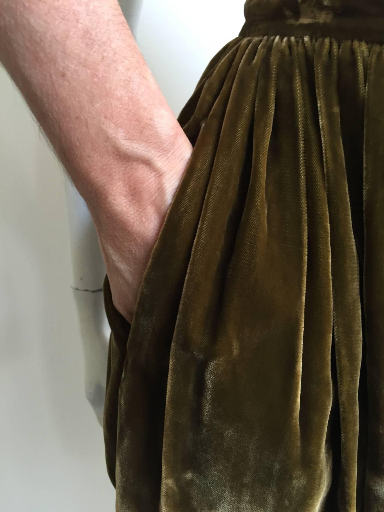 Giorgio Armani Velvet Bloomers Size 4. 3
