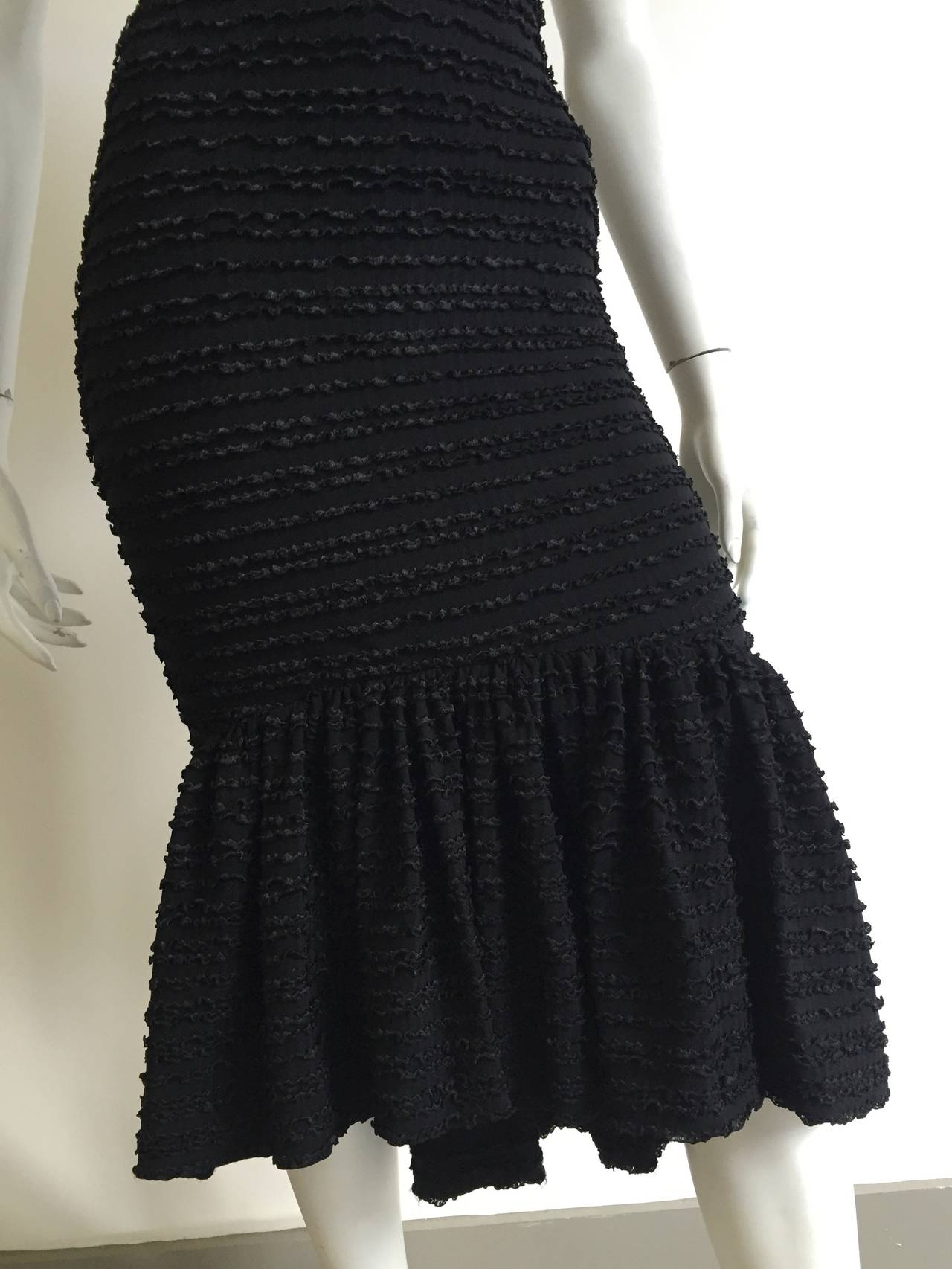 Patrick Kelly Paris 1986 Black Dress Size 4. 3