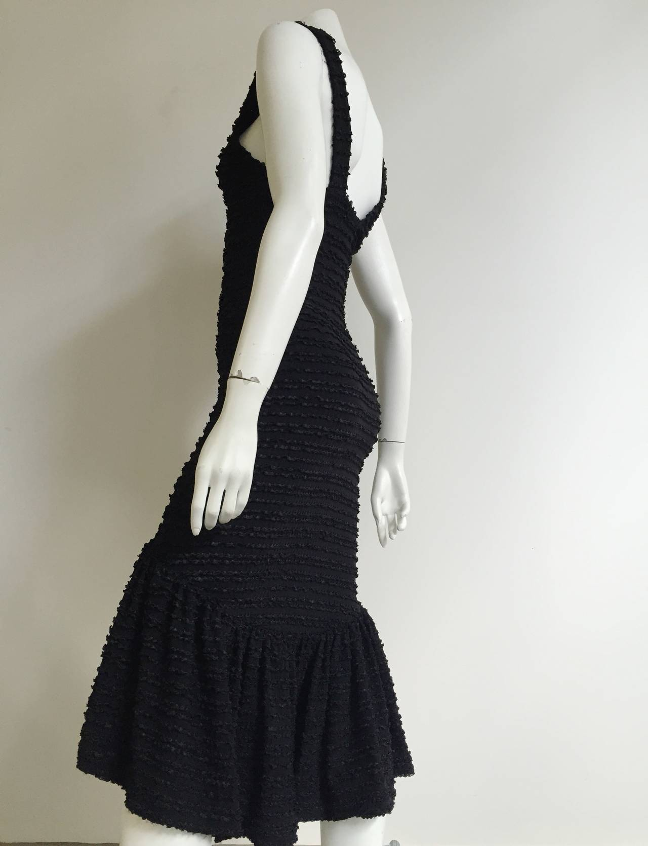 Patrick Kelly Paris 1986 Black Dress Size 4. 4
