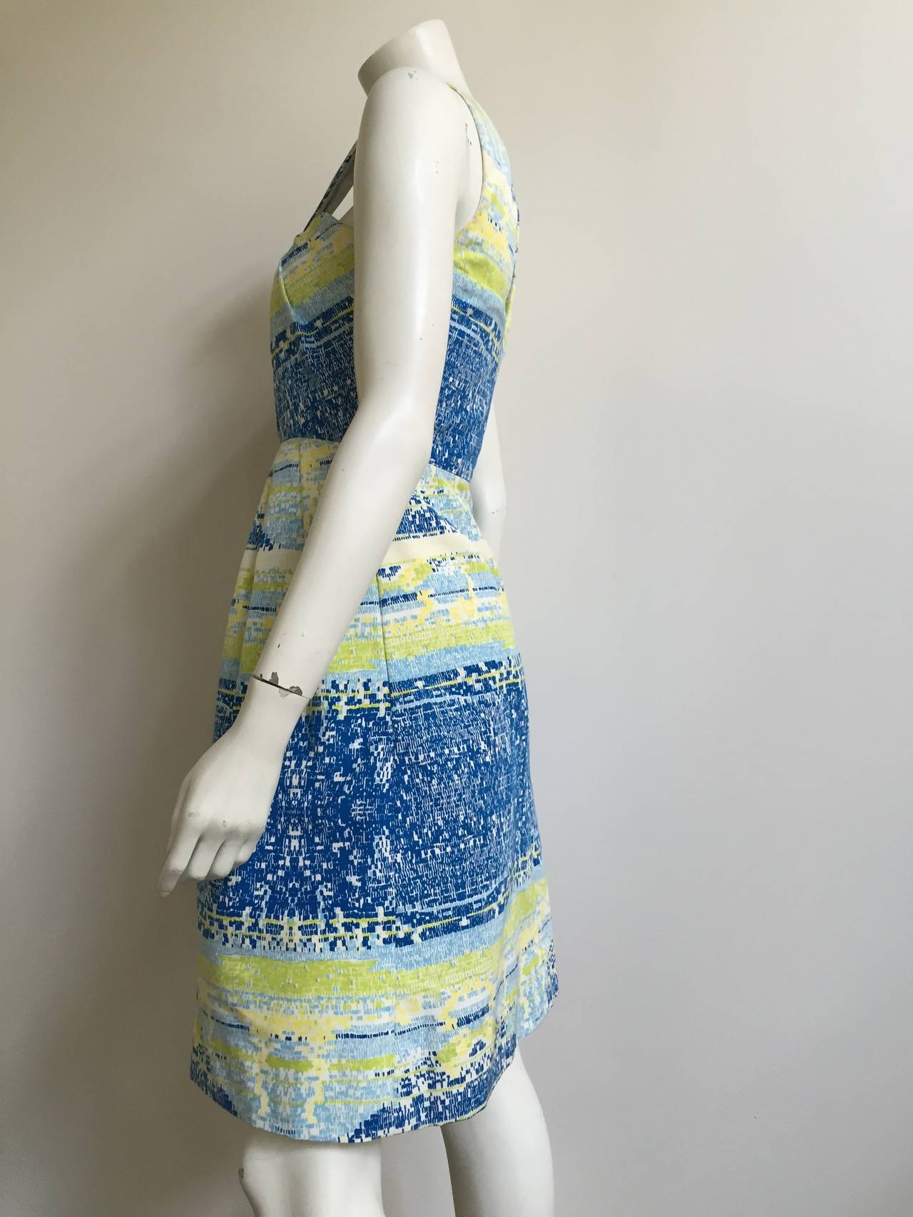 Bill Blass by Peter Som 2009 Cotton Dress With Pockets Size 4. 4