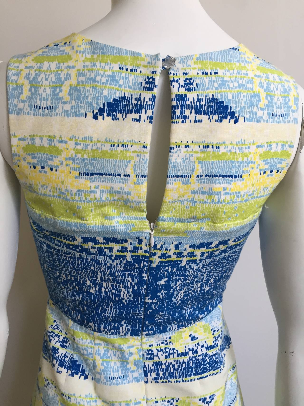 Bill Blass by Peter Som 2009 Cotton Dress With Pockets Size 4. 6