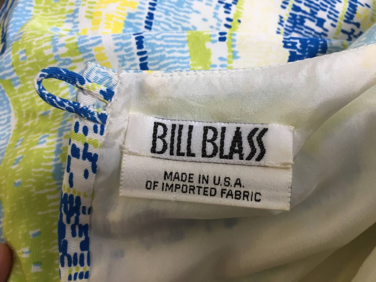 Bill Blass by Peter Som 2009 Cotton Dress With Pockets Size 4. 9
