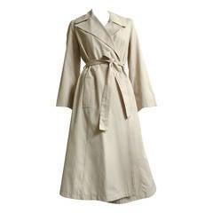 Halston 70s Trench Coat Size 10.