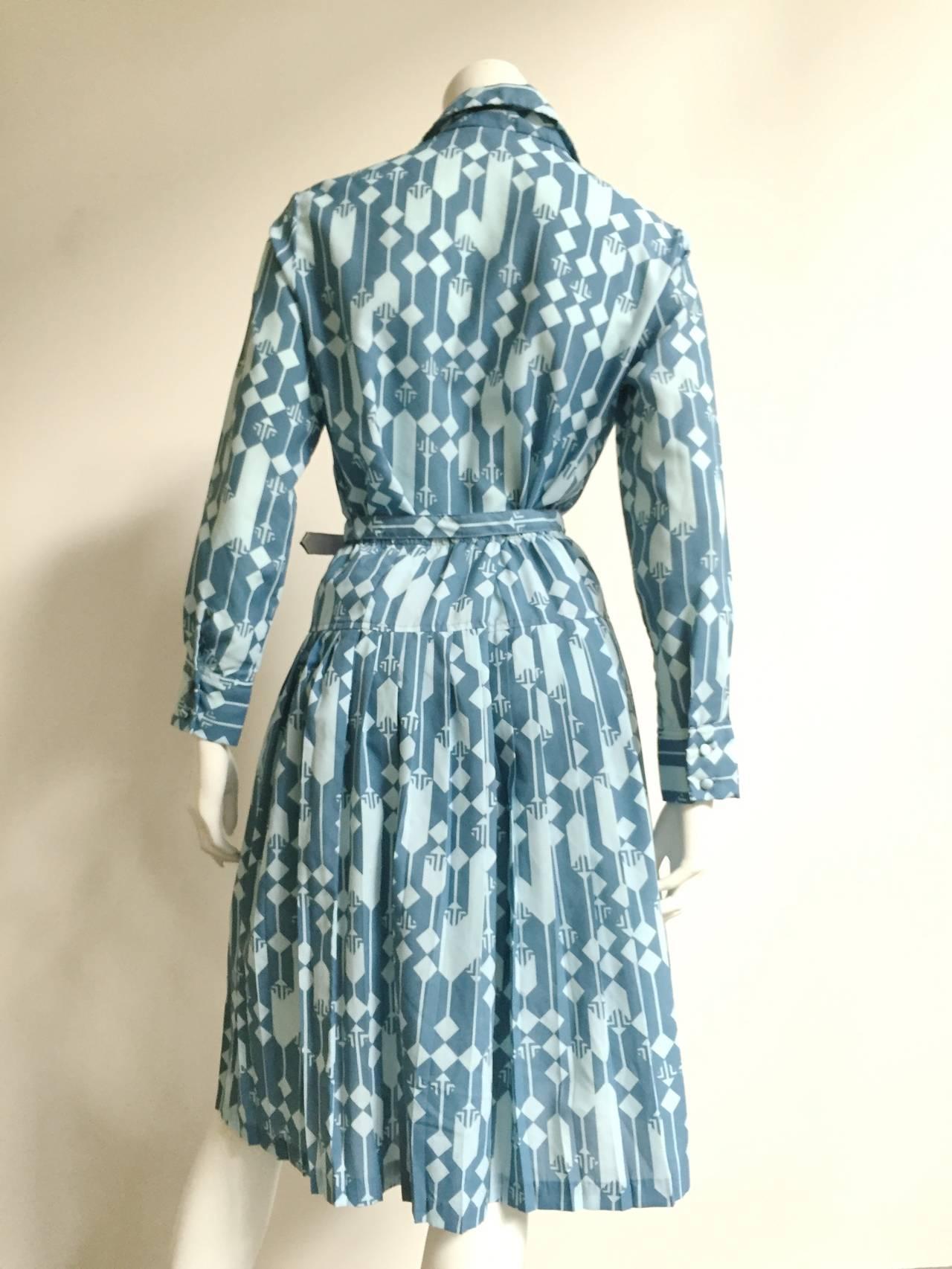 Women's Lanvin Blouse, Skirt & Belt Dress Set Size 8. For Sale