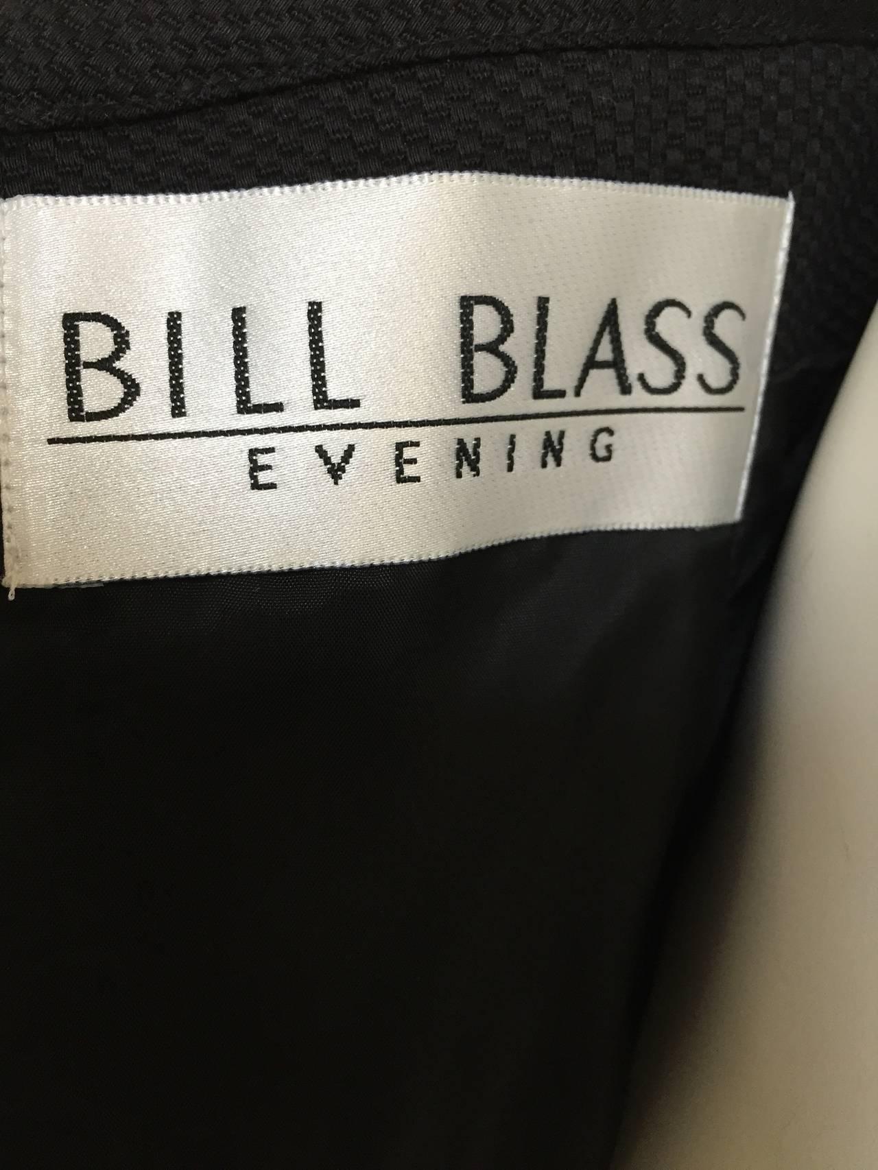 Bill Blass 90s Black Strapless Dress With Pockets Size 4. 8