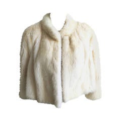 Guy Laroche 60s mink fur jacket.
